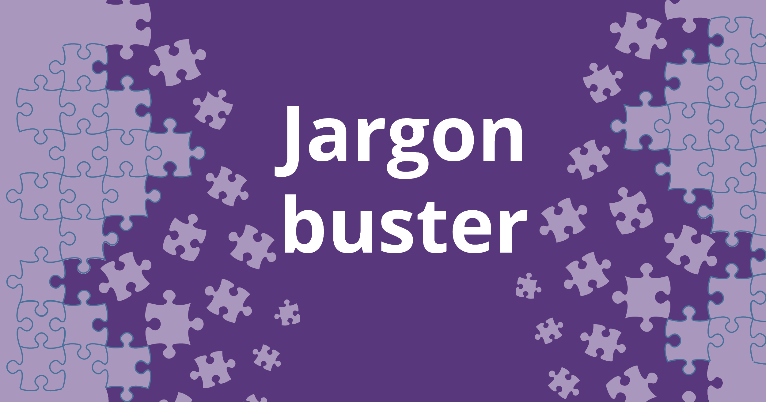Autism jargon buster