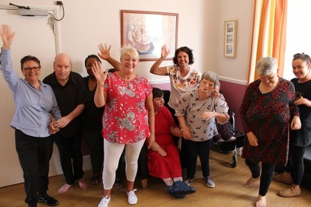Service spotlight: Mawney Road takes a walk in their residents' shoes