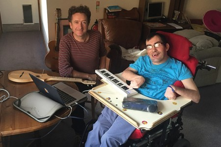 Keith uses music to tell his story