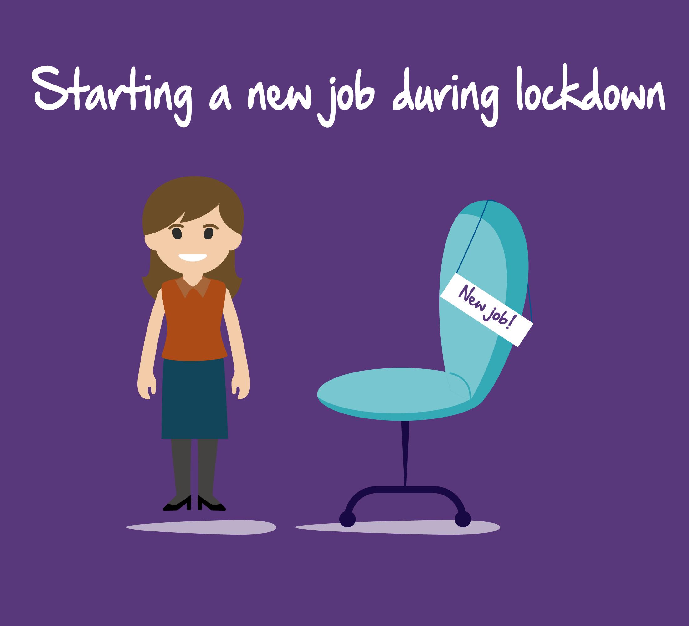 Starting a new job during lockdown
