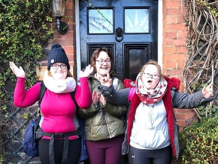 COVID-19 won't stop these three friends moving into supported living!