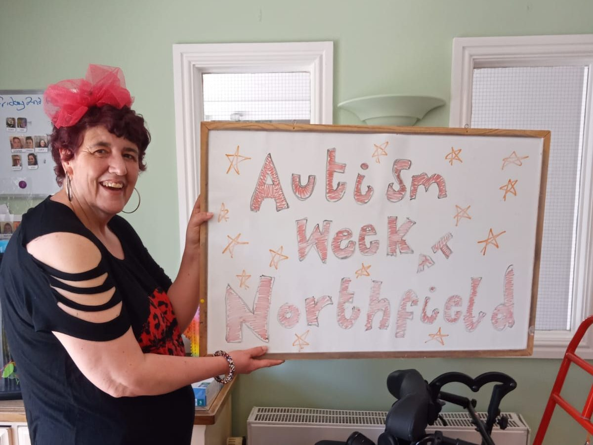 Autism awareness week at our services