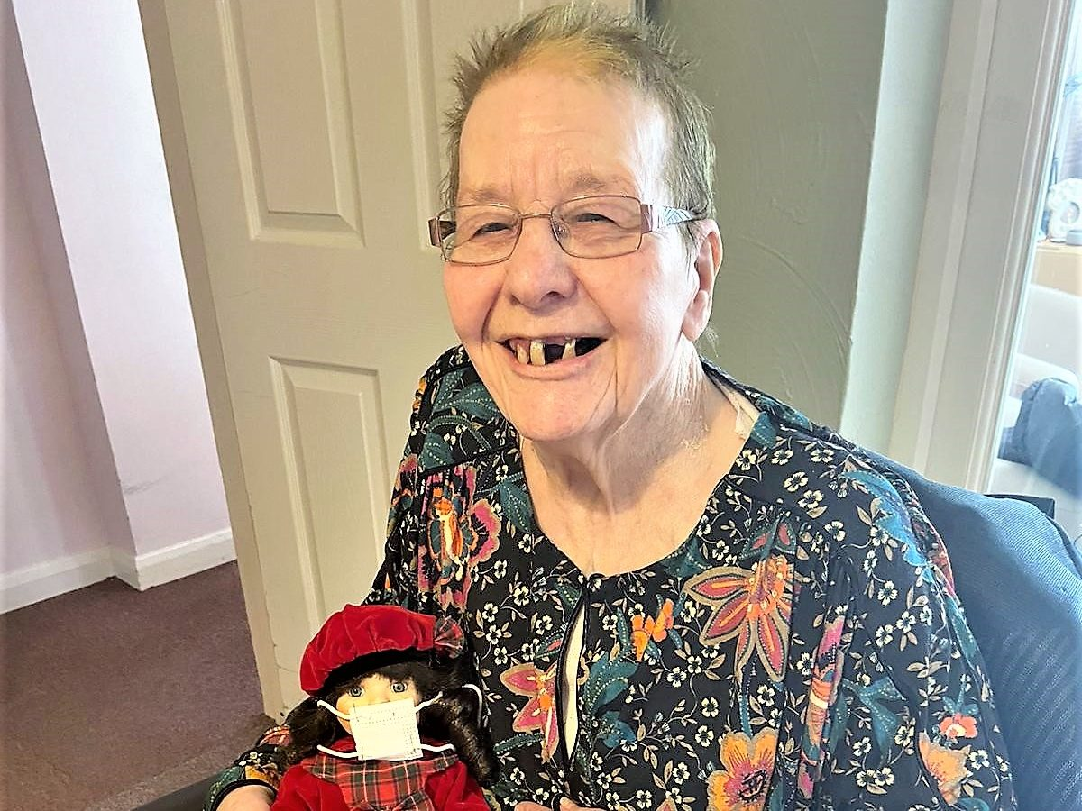 Shirley's new lease of life is helping her achieve her goals