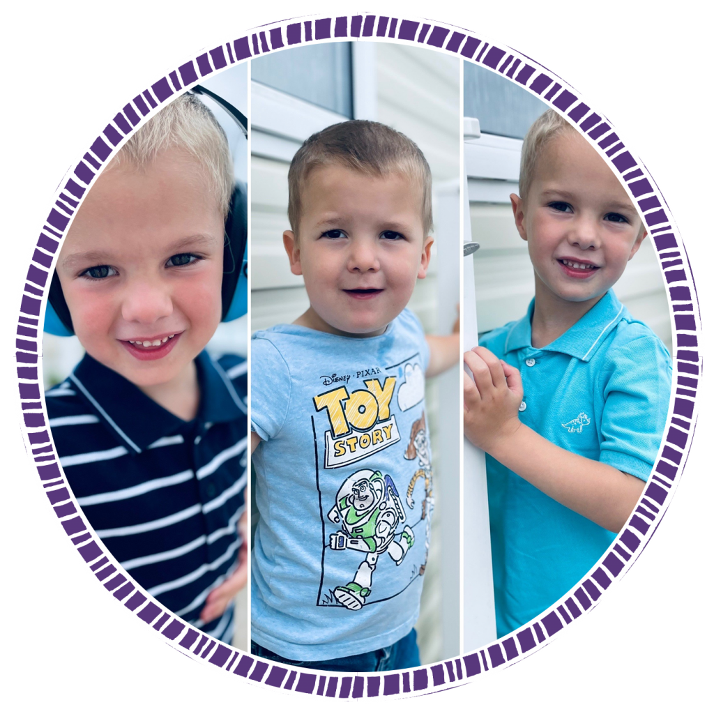 BAPs awards Newcomer Finalist - Image of twins Jaxson and Michael and their brother Blake - the inspiration behind The Parker Family blog.