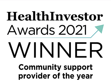 Voyage Care crowned Community Support Provider of the Year at the 2021 HealthInvestor Awards!